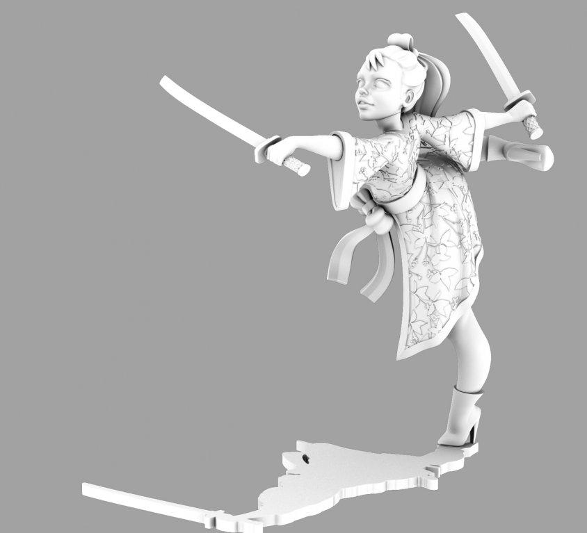 Ballerina Ninja