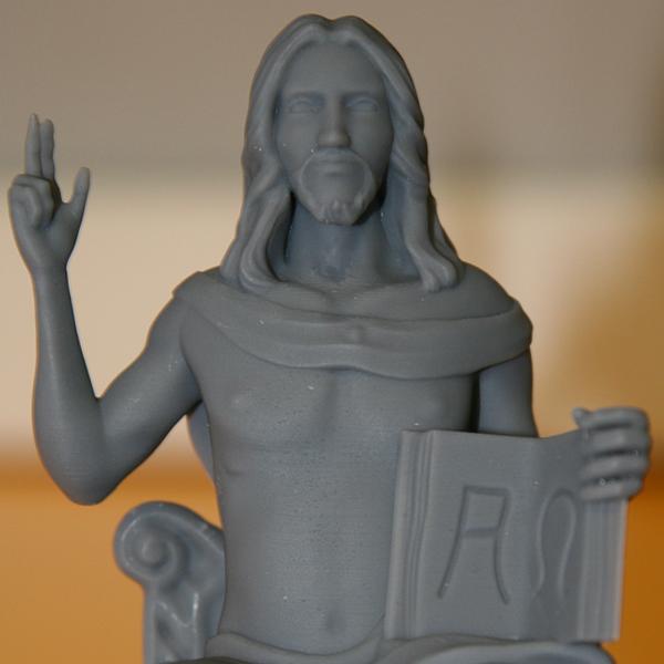 Statuina del Cristo Seduto